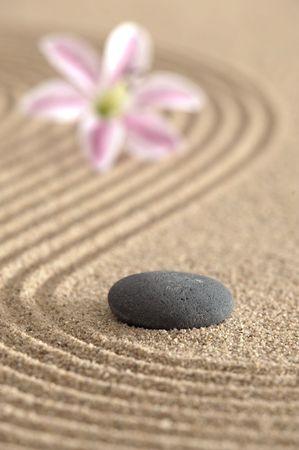 giardino Zen in sabbia