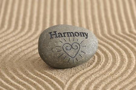 sand stone: zen garden in sand