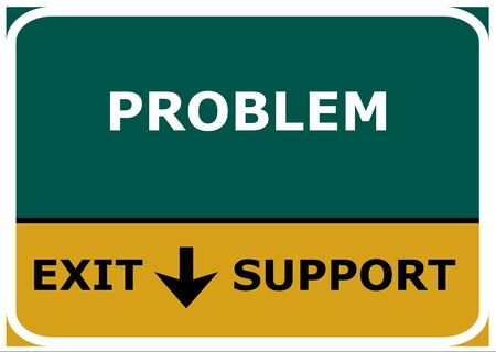 from PROBLEM to SUPPORT photo