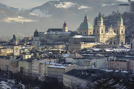 city Salzburg in Austria photo