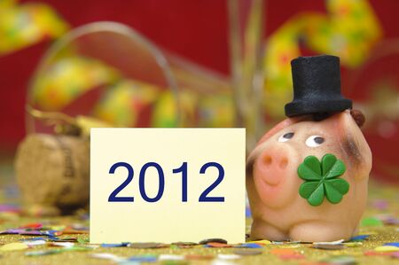 happy new year 2012 Stock Photo - 8660207
