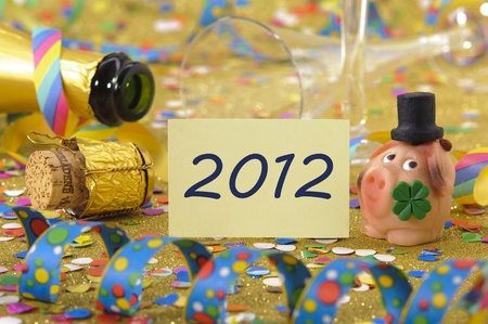 happy new year 2012 Stock Photo - 8826322