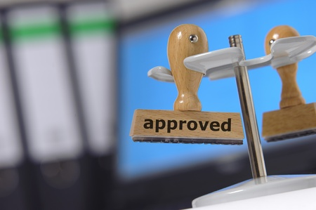 approval approved Stock Photo - 10028569