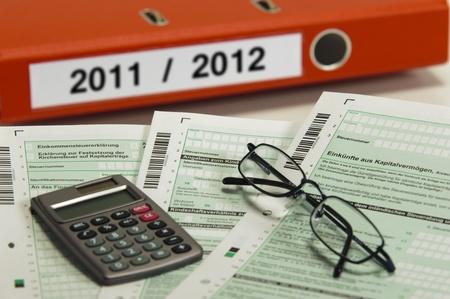 podatnika: Niemiecki formularz podatkowy