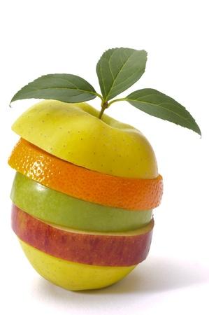 Mischungen von Früchten Standard-Bild