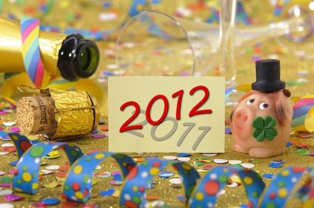 new year 2012 Stock Photo - 11294141