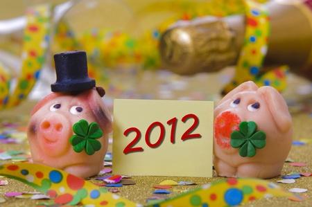 new year 2012 Stock Photo - 11294137