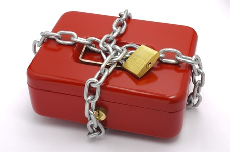 catena: locked red cash box