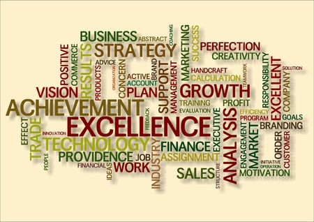 sales executive: business word cloud