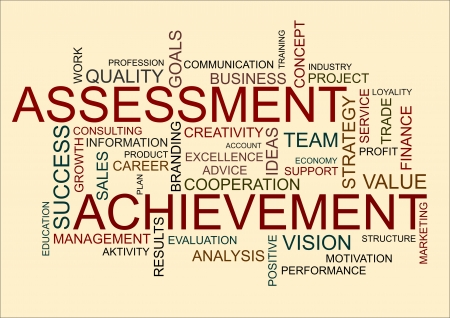 assessment: business word cloud