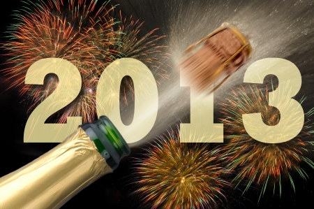 Christmas and new year 2013 Stock Photo - 15295857