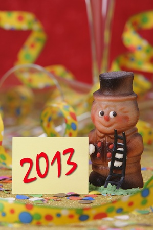 Christmas and new year 2013 Stock Photo - 15295853