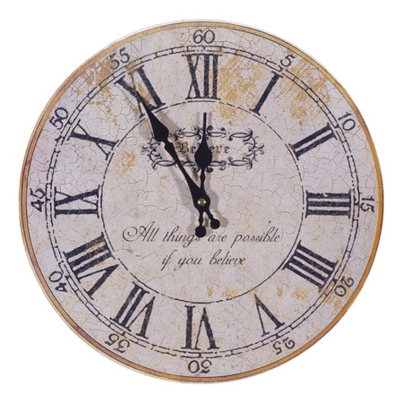 reloj antiguo: aislado reloj grunge