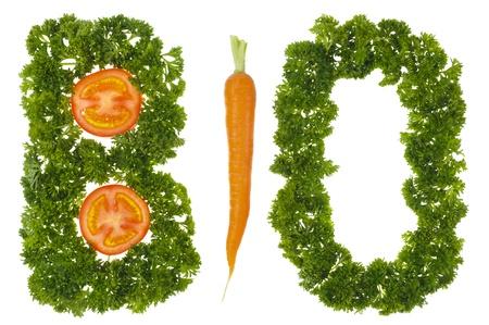biological vegetable Stock Photo