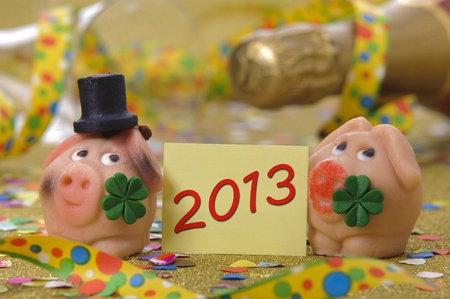 talisman for new year 2013 Stock Photo - 15542316