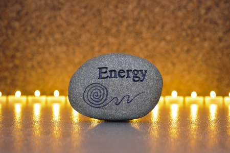 zen garden: stone of energy