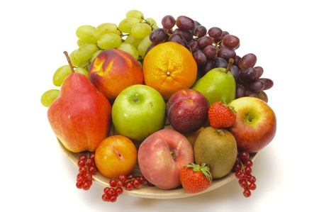 fresh mixed fruits photo