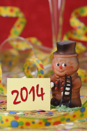 new year 2014 Stock Photo - 19407581