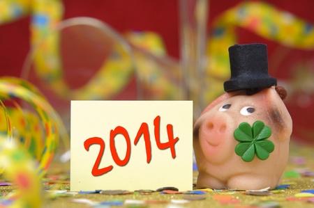 new year 2014 Stock Photo - 19407542