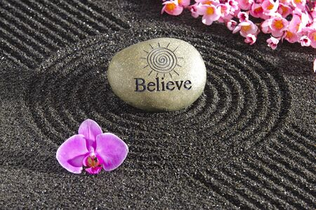 Japan zen garden Stock Photo - 19407686