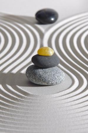 raked: japan zen garden