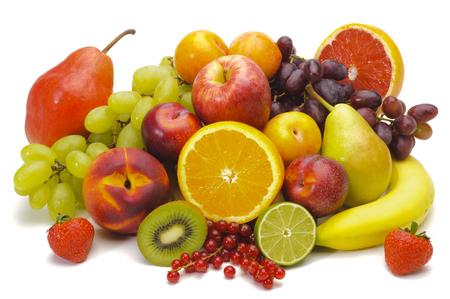 新鮮なフルーツのグループ