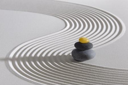japon: Japon jardin zen