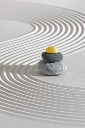 石積みと日本禅の庭