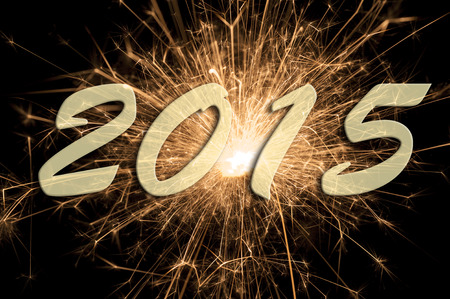 year's eve: fireworks at new year s eve 2015