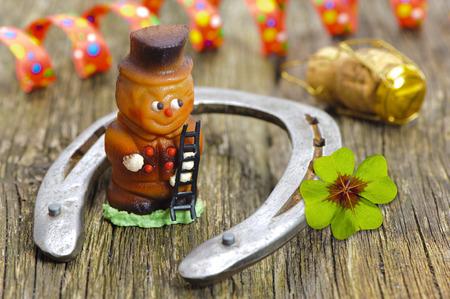 buena suerte: talismán para el nuevo año