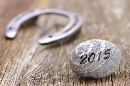talism�n: a�o nuevo 2015 con la herradura como talism�n