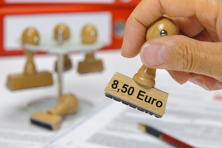 minimum wage: 8,50 Euros minimum wages for workers in Germany