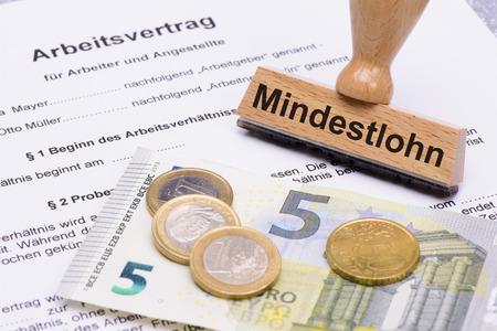 8,50 ユーロと雇用契約とドイツの最低賃金