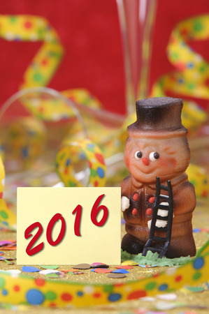 lucky charm: Happy new year 2016 with lucky charm