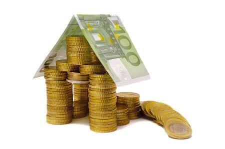 savings and loan crisis: Euro house shows damage and crisis