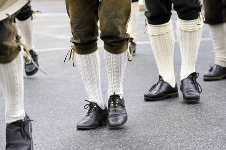rd: Munich, Germany -  September 20, 2015: The Oktoberfest is the world biggest beer festival and at the opening parade with rd. 9000 participants take part with historical costumes, music bands and horses Editorial