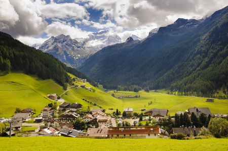 rein: small village Rein in south Tyrol Stock Photo