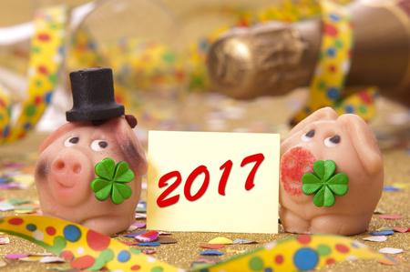 marzipan talisman at new years 2017