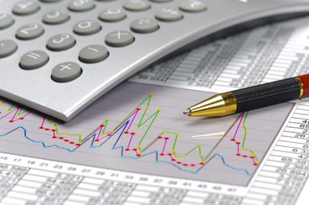 hoja de calculo: las finanzas y el cálculo en el mercado de valores con la carta y hoja de cálculo