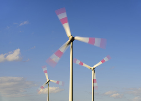 alternative energy with windmill for renewable electricity