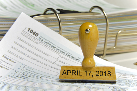 tax form 1040 for year 2018