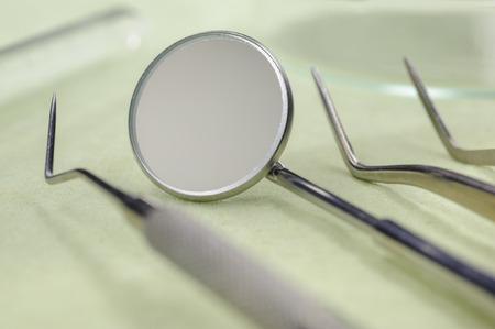 dental equipment for examination Standard-Bild