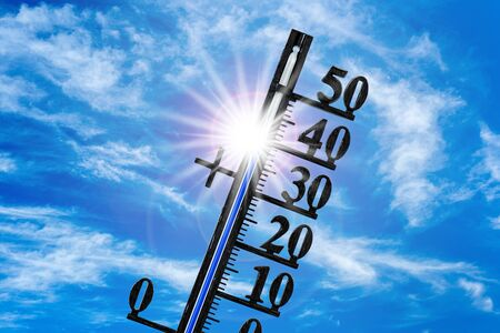 Heat, high temperature and dryness Imagens