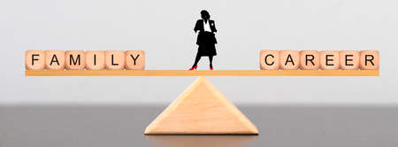 Business woman must choose between family and career