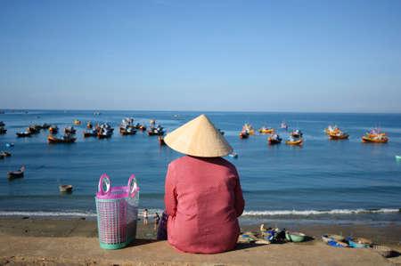 Mui Ne beach  Stock Photo