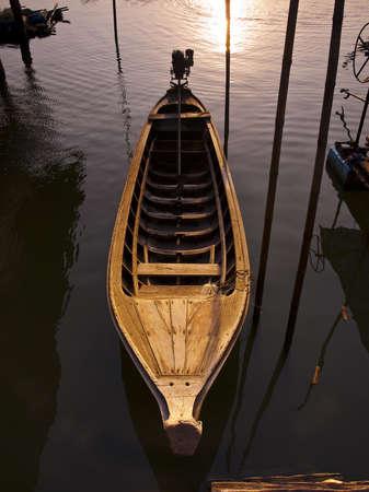 Boat in Panyi island, Thailand  Stock Photo