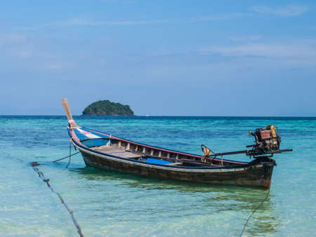 Boat in Lipe Stock Photo - 17072885
