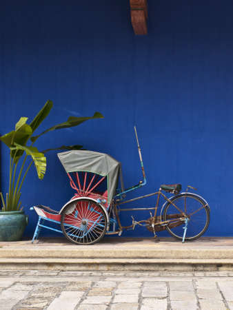 rikscha: Tricycle in Penang