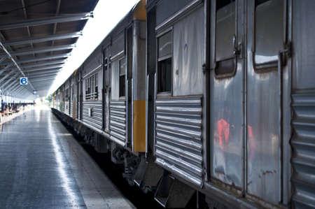 Train in Thailand  Stock Photo