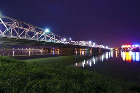 Trang Tien bridge, Hue, Vietnam Stock Photo - 17343705